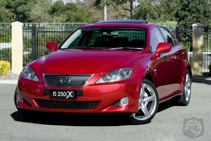 2008 Lexus IS 250 X Announced Australia